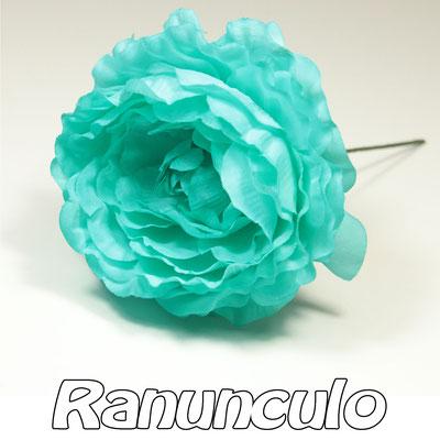 Flor Flamenca modelo RANÚNCULO