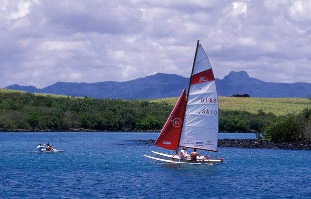 pratique des activités nautique à l'ile maurice