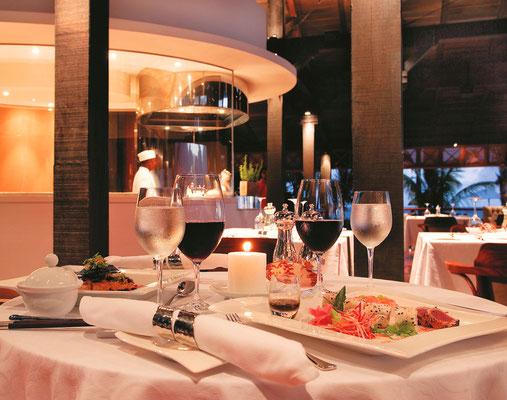 Gastronomie DOmaine de BEL OMBRE ILE MAURICE