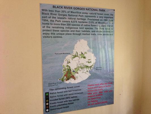 National PARK ILE MAURICE : les gorges de rivière noire