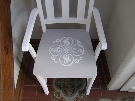 Das Ornament passt sich harmonisch in das Ambiente der Villa ein.