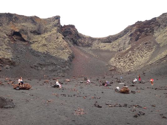 Ritual im Vulkan