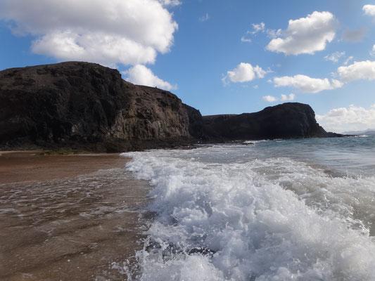 kraftvolle Wellen