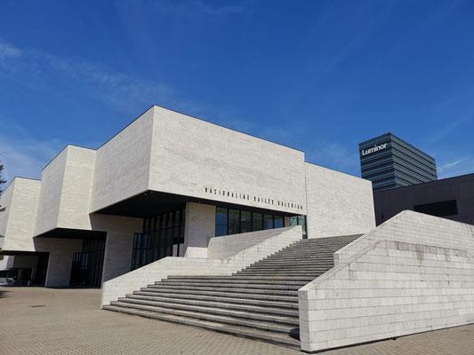 National Gallery of Art Vilnius, Instant conversation, regina Huebner and Gabriel Soucheyre