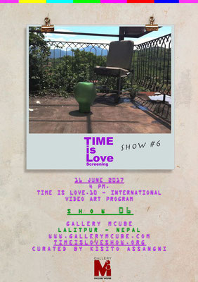Gallery Mcube, Lalitpur, Nepal, TIME is Love.10, Regina Huebner, loving.