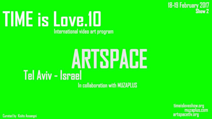 Artspace Tel Aviv, Israel,  TIME is Love.10, Regina Huebner, loving.