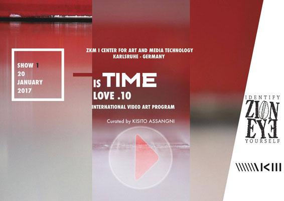 ZKM Zentrum fuer Kunst und Medien Karlsruhe,  Germany, TIME is Love.10, Regina Huebner, loving.
