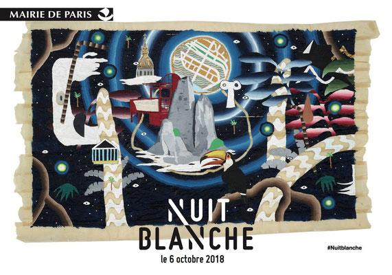 Nuit Blanche Paris 2018, Regina Huebner, loving