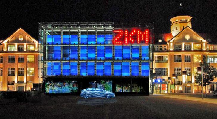 ZKM Zentrum fuer Kunst und Medien Karlsruhe,  Germany, TIME is Love.10. Regina Huebner, loving.