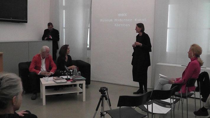 MMKK Museum of Modern Art Carinthia, Arnulf Rohsmann, Regina Huebner, Director Christine Wetzlinger-Grundnig