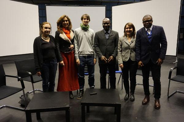 ZKM Center for Art and Media Karlsruhe, Marie Paule Bilger, Regina Huebner, Kai Welf Hoyme, Abdoul-Ganiou Dermani, Simone Stoll, Kisito Assngni.