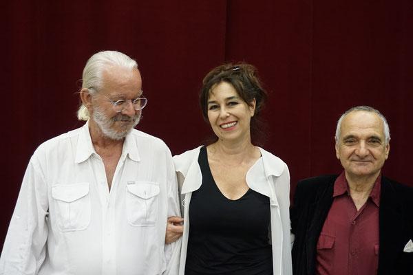 Italian Cultural Center Vienna, Arnulf Rohsmann, Regina Huebner, Luca Lombardi
