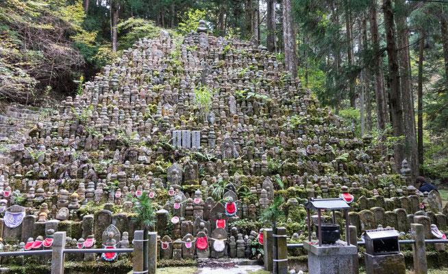 Jizo Statues Okunoin Cemetery