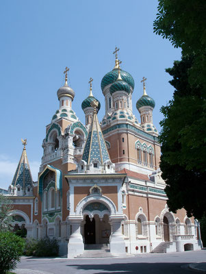 St. Nicolas Russian Orthodox Church in Nice