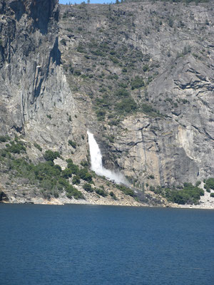 Wapama Falls, Hetch Hetchy Reservoir