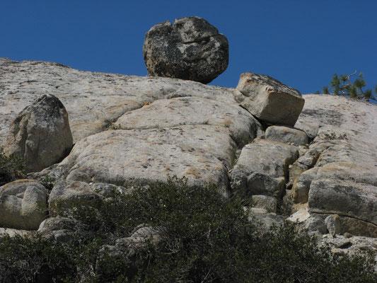 Erratic Rock Formation