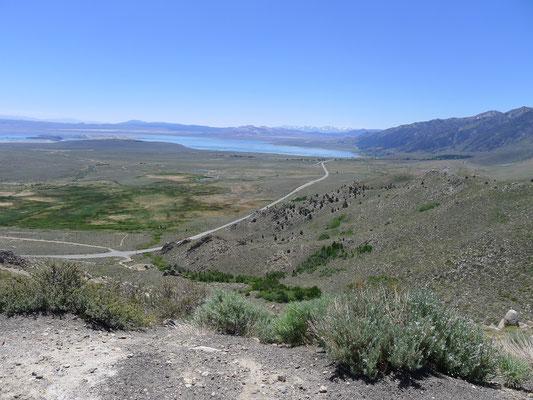 Hwy 395 to Mono Lake