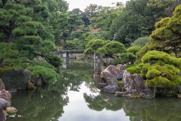 Garden at Nijo Castle, Kyoto