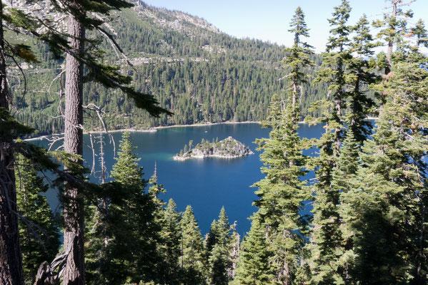 Fannette Island on Emerald Bay, Lake Tahoe