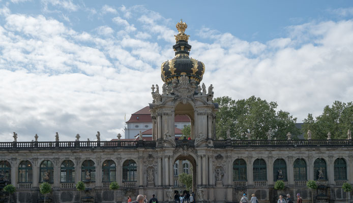 Zwinger Palace Courtyard, Dresden