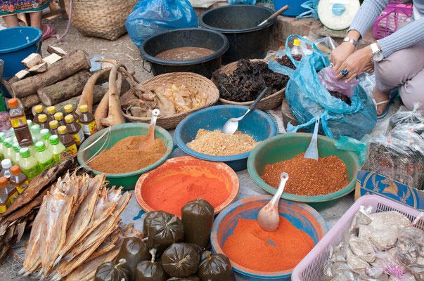 Farmers Market, Luang Prabang, Laos