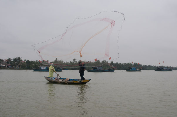 Fishing in Hoi An, Vietnam