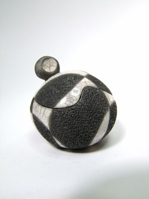 boite ronde céramique raku