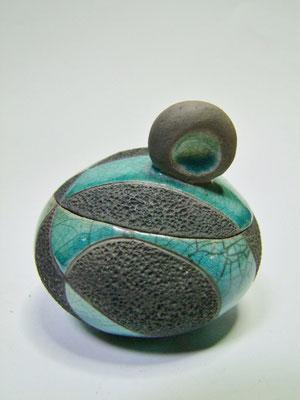 boite ronde en céramique