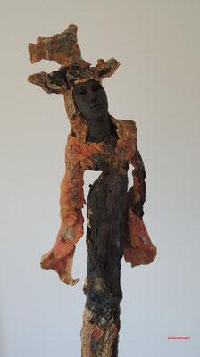 sculpture contemporaine ceramique