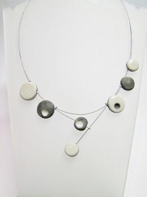 fiche detaille collier artisanal ceramique raku