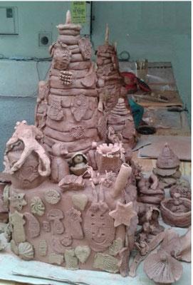 atelier ceramique marché de potiers