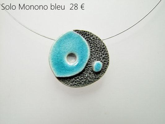 acheter ce collier stylisé en ceramique raku de l'atelier simplement terre