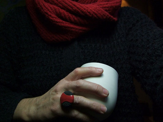 bague de ceramiste