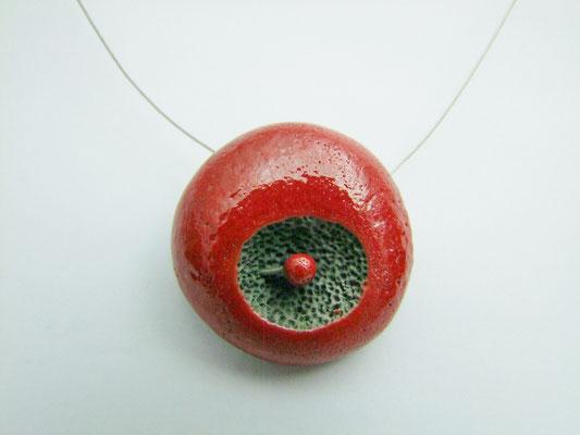 fiche produit collier ceramique raku atelier simplement terre