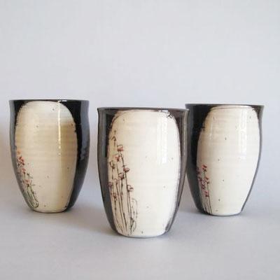 bols hauts en ceramique florence marquet