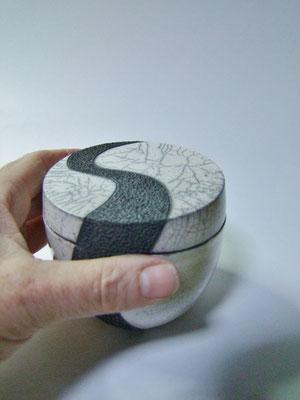 boite ceramique raku