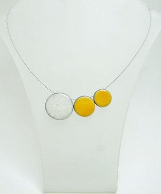 acheter collier createur perle ceramique