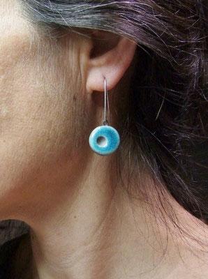 bijou de l'atelier simplement terre boucles d'oreilles