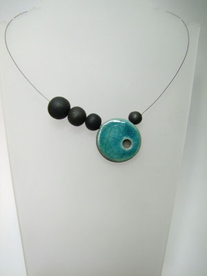bijou contemporain artisanal en ceramique