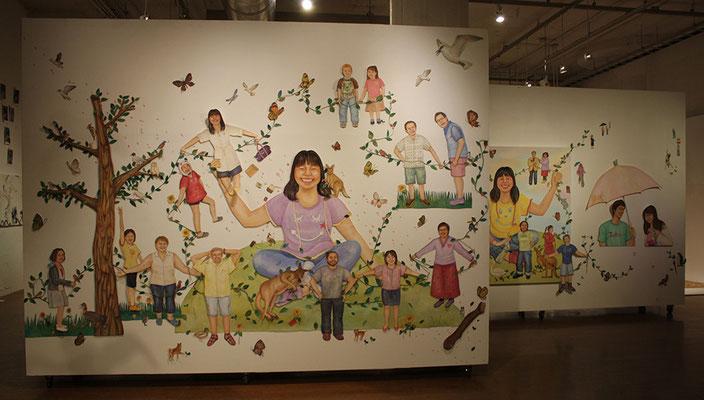 こんにちはこんにちはごっこ Hello game/bank art(神奈川)