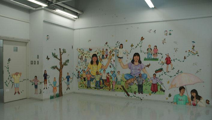 こんにちはこんにちはごっこ Hello game/女子美術大学アトリエ(神奈川)