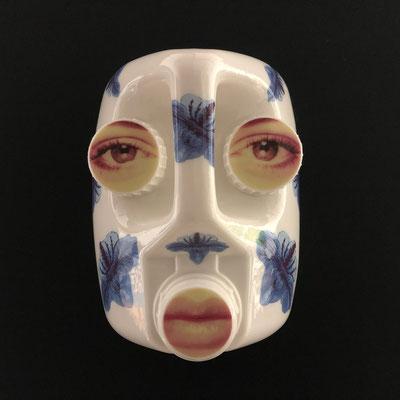 masque bidon/porcelaine