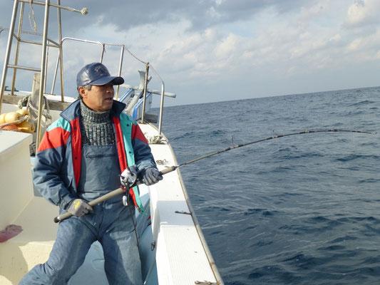 12月27日 沖の三界 2日目ブリ狙い