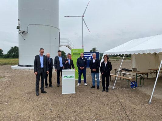 1. kommunaler Windpark Sachsen-Anhalts in Osterburg mit Bürgerbeteiligung