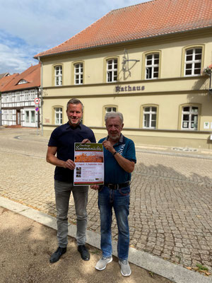 Bekanntgabe Osterburger Sommernächte mit Wolfgang Tramp