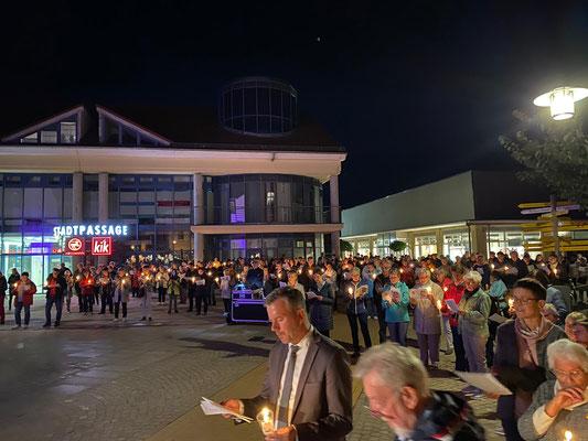 Einheitssingen auf dem Hilligesplatz am 3. Oktober