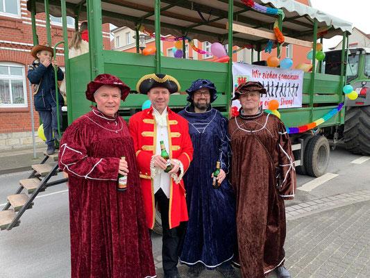 Karnevalsumzug in Osterburg