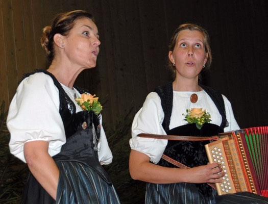 Duett Regula Gerber und Heidi Kohler