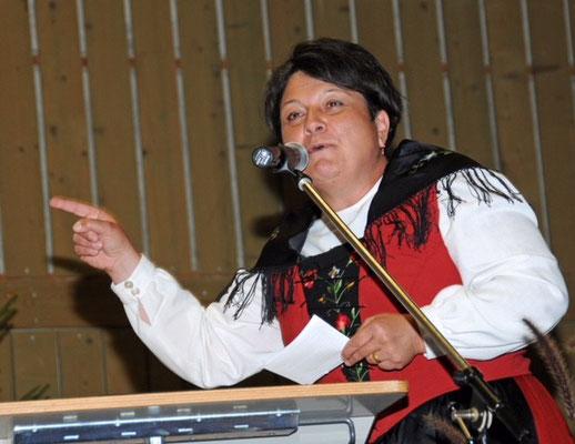 Karin Niederberger, Zentralpräsidentin Eidg. Jodlerverband