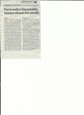 Giornale di Sicilia, mercoledì 24 aprile 2013
